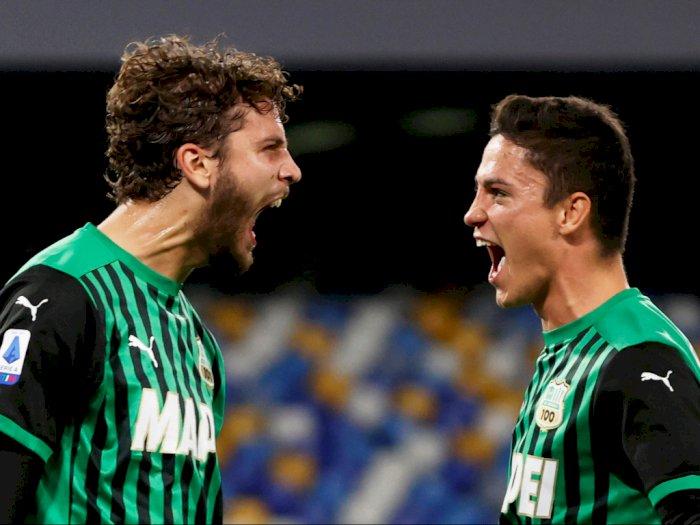 FOTO: Liga Italia, Sassuolo Permalukan Napoli 2-0