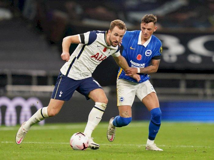Tottenham Hotspur Amankan 3 Poin Usai Kalahkan Brighton & Hove Albion