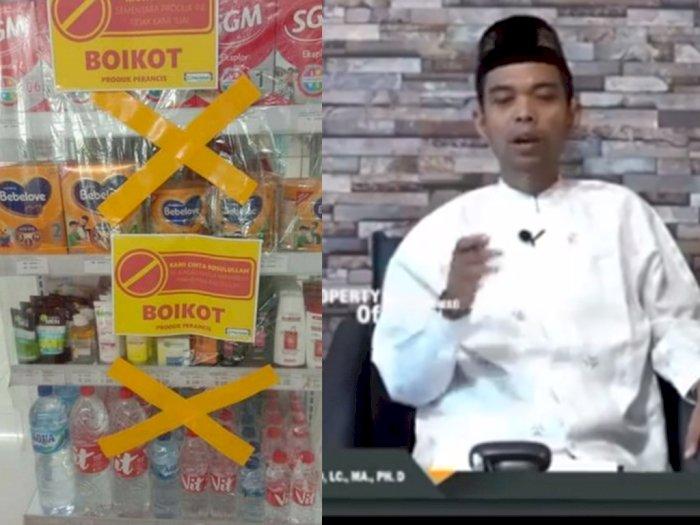 UAS Bilang Umat Islam Wajib Boikot Produk Prancis, Tidak Ada Tawar Menawar