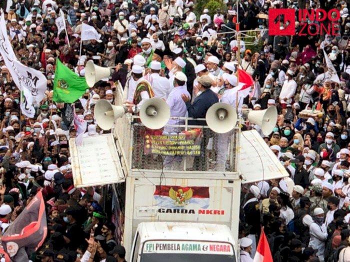 Orasi di Demo PA 212 Soal Ucapan Presiden Prancis, Ustadz Haikal Hassan: Kamu Teroris!