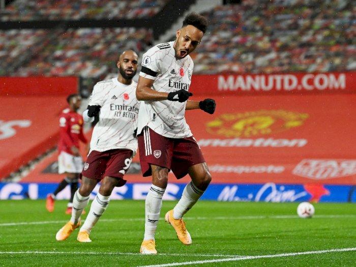 Old Trafford Jadi Saksi Kemenangan Arsenal Kalahkan Manchester United