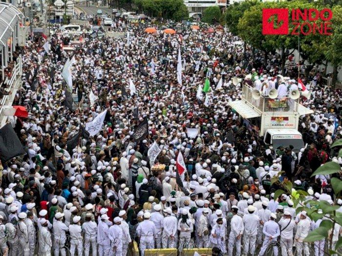 Demo PA 212 di Jakarta, Minta Pemerintah Boikot Produk Prancis