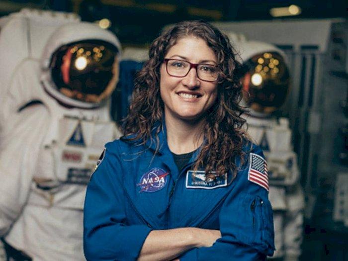 Christina Koch, Astronot Wanita yang Pecahkan Rekor Misi Luar Angkasa Terpanjang
