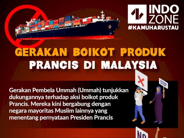 Gerakan Boikot Produk  Prancis di Malaysia