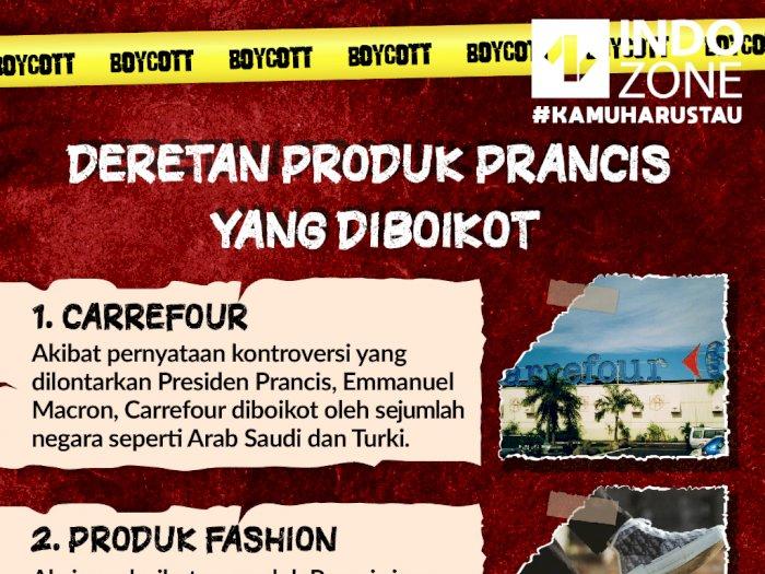 Deretan Produk Prancis Yang Diboikot