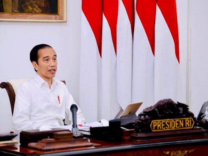 Jokowi Resmi Teken UU Cipta Kerja Setebal 1.187 Halaman