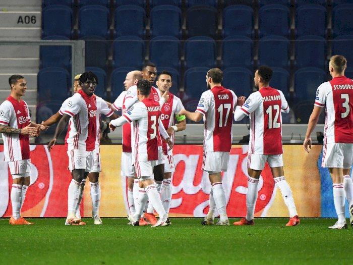 Gara-Gara Corona, Ajax Cuma Bawa 17 Pemain untuk Laga Liga Champions ke Markas Midtjylland