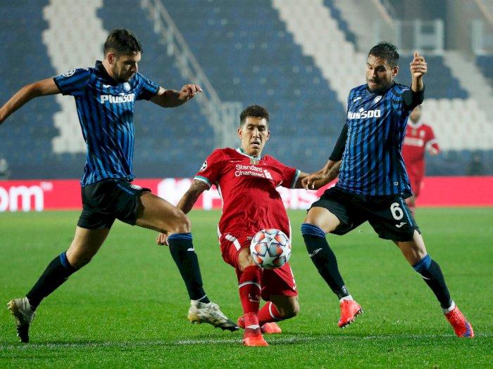 Hajar Atalanta 0-5, Liverpool Pemimpin Grup D Liga Champions, Diogo Jota Hattrick