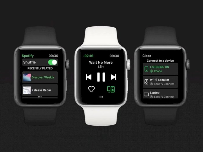 Spotify Rilis Aplikasi Standalone Khusus untuk Apple Watch