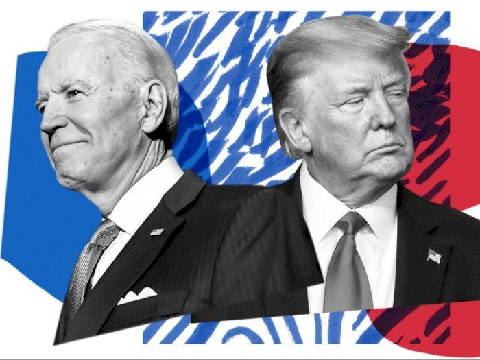 Pemilu AS, Joe Biden Unggul Sementara 223 Suara Elektoral atas Donald Trump 204 Suara