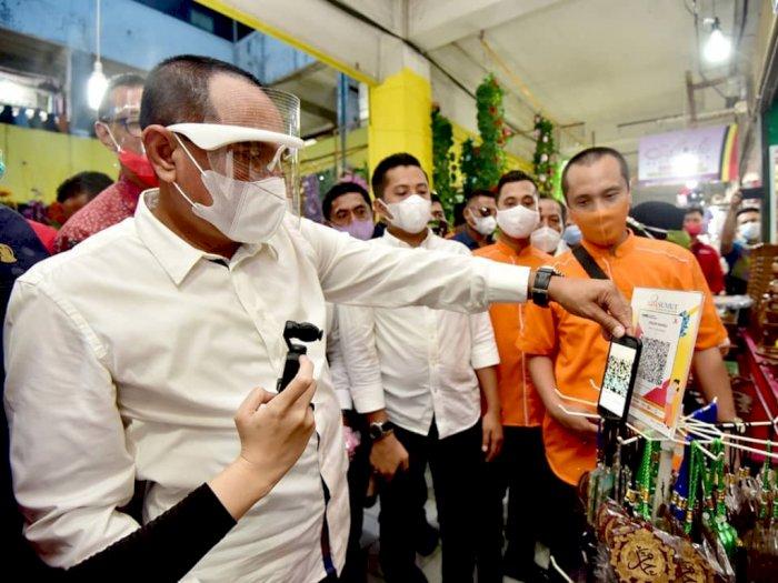 Edy Rahmayadi: Saya Jadi Gubernur Sumut Karena Kampanye 3 Kali di Pasar Sentral Medan