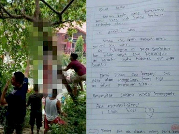 Patah Hati, Gadis SMA Gantung Diri di Pohon Jambu Pakai Dasi, Isi Suratnya Bikin Merinding