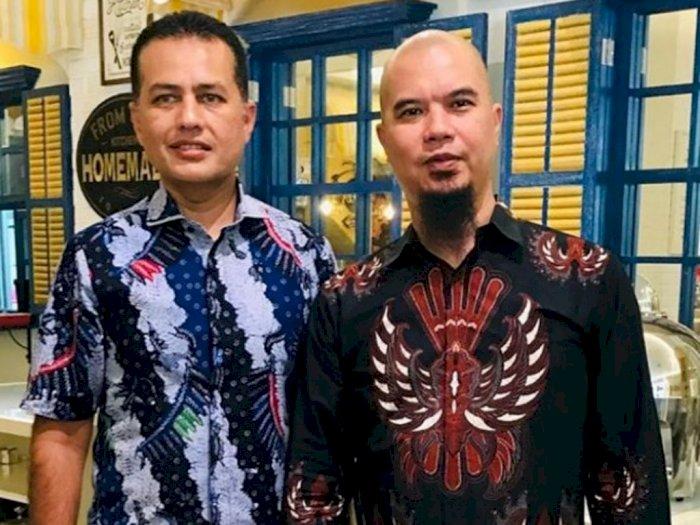 Ahmad Dhani Unggah Foto Bersama Wakil Gubernur Sumatera Utara, Batiknya Jadi Perhatian