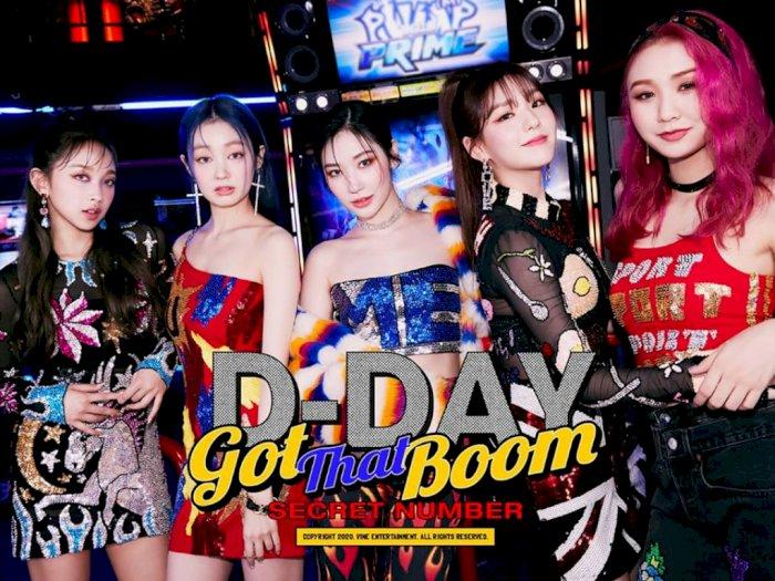 SECRET NUMBER Comeback, Dita Karang Kembali Jadi Pembuka Verse Single 'Got That Boom'