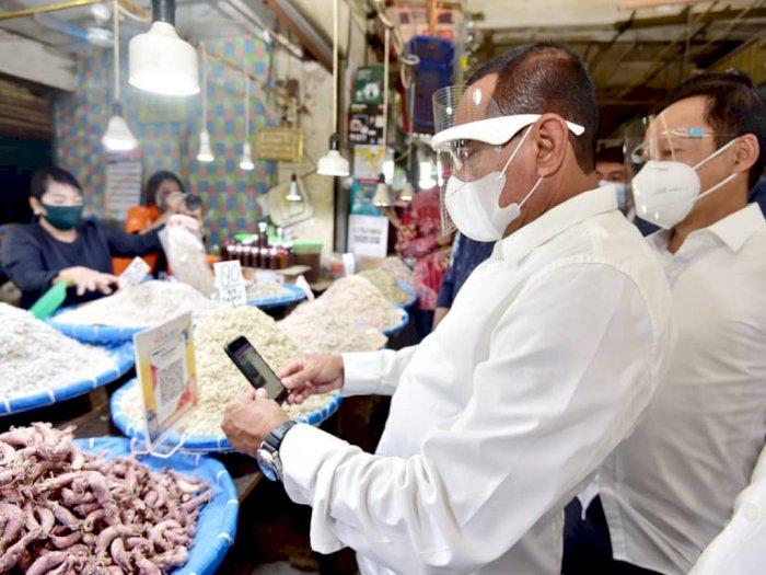Gubernur Edy Berharap Medan Punya Wali Kota Baru Agar Pasar Sentral Dapat Dibenahi