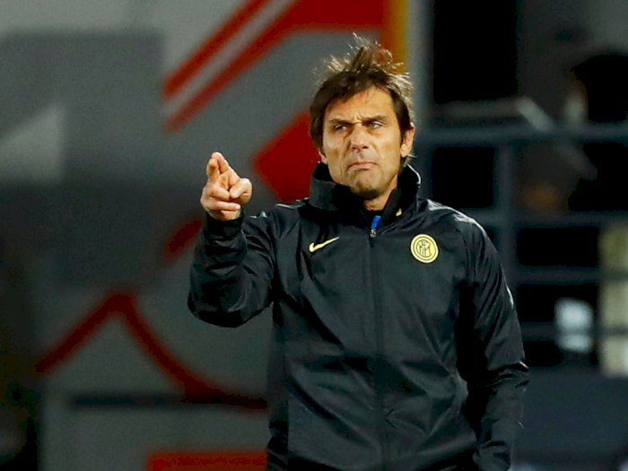 Dikalahkan Madrid, Conte Tetap Optimis pada Inter: Masih Ada Ruang untuk Berkembang