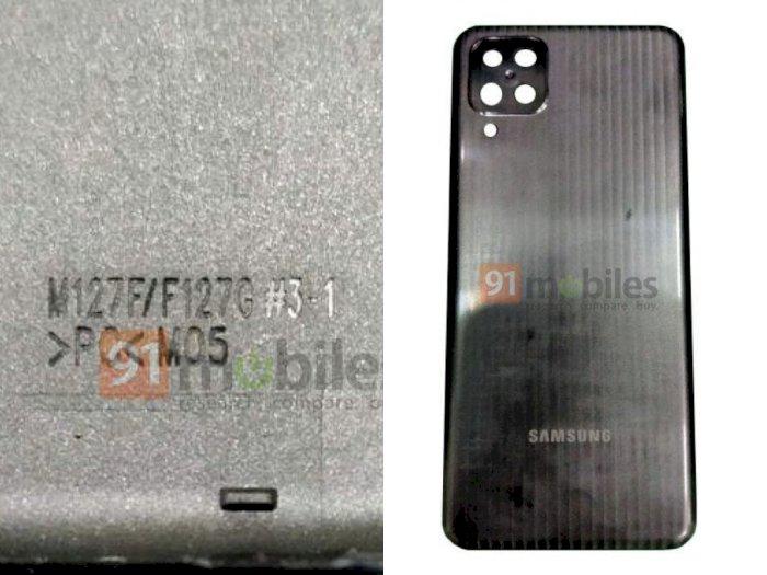 Tampilan Frame Samsung Galaxy M12 yang Bakal Hadir dengan Baterai 7.000 mAh