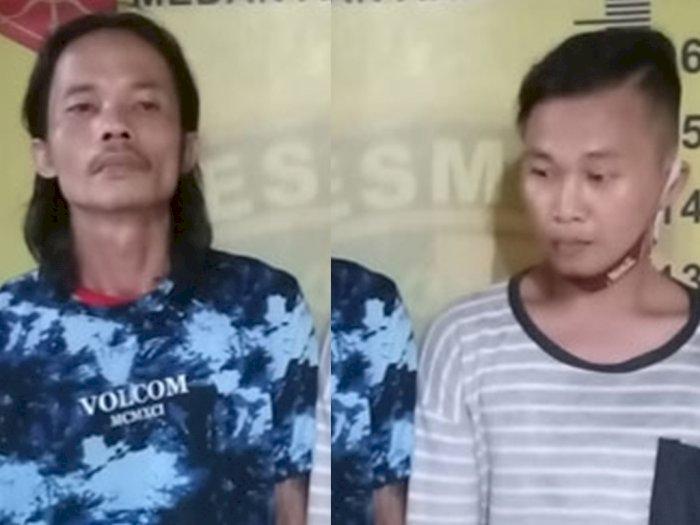 Bongkar Rumah Warga di Medan, Dua Pria Komplotan Maling Ini Diringkus Petugas