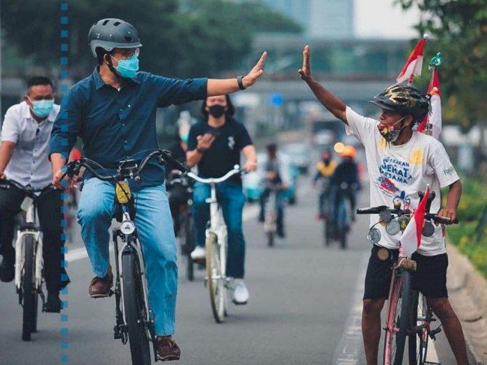 Anies Baswedan: Pandangan Sepeda untuk 'Sport' Diubah Jadi 'Transport'