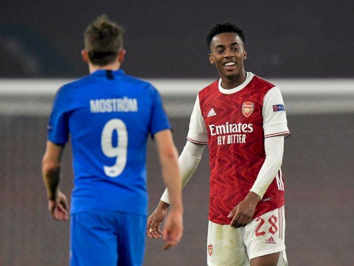 Arsenal Vs Molde 4-1, Dua Gol Arsenal Tercipta Berkat Gol Bunuh Diri