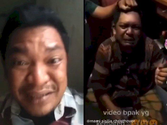 Viral Bapak-bapak Dipukuli karena Curi Nasi untuk Makan, Ternyata Hanya Parodi
