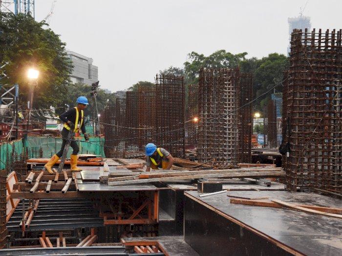 FOTO: Progres Revitalisasi Taman Ismail Marzuki