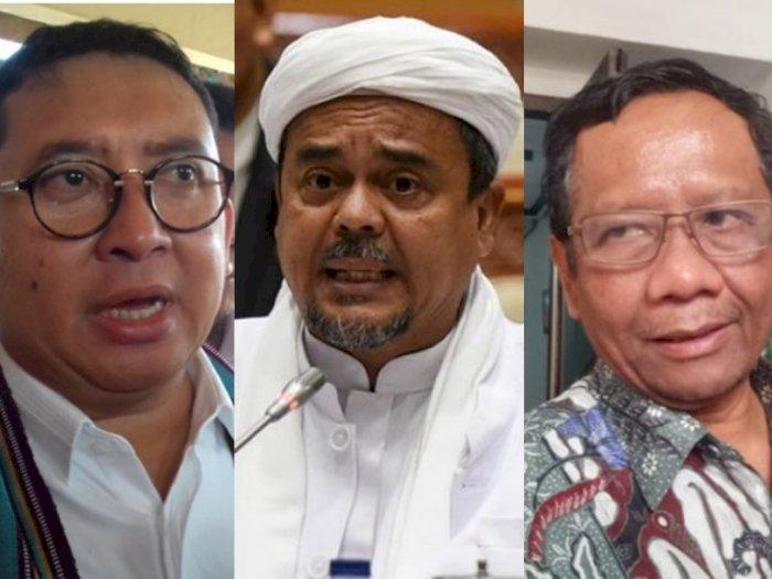 Fadli Zon Lontar Kritikan, Mahfud MD Ungkit Sumpah Habib Rizieq Tolak Bantuan Pemerintah