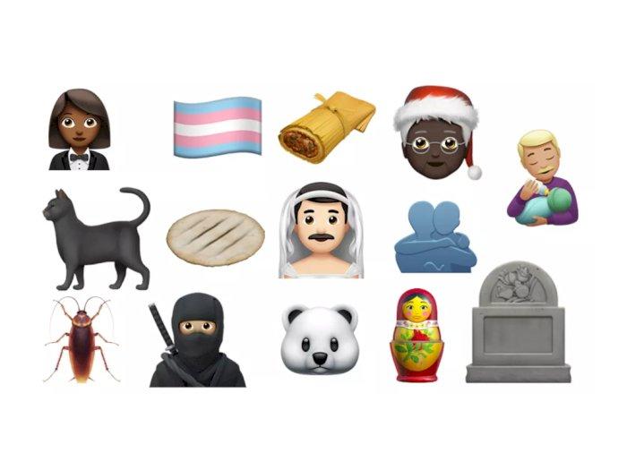 Apple Rilis 117 Emoji Baru di iOS 14.2, Mulai dari Ninja Sampai Sikat Gigi!