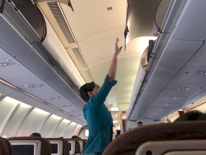 Terbang Bersama Pesawat Garuda Saat Pandemi, Begini Penerapan Protokol Kesehatannya