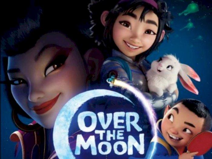 Sinopsis Animasi 'Over the Moon (2020)' - Perjalanan Gadis Kecil Menemui Dewi Bulan