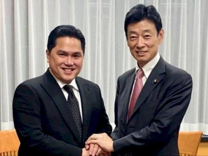 Menteri BUMN Jalin Kerja Sama dengan Jepang Bidang Kesehatan Hingga EV Battery
