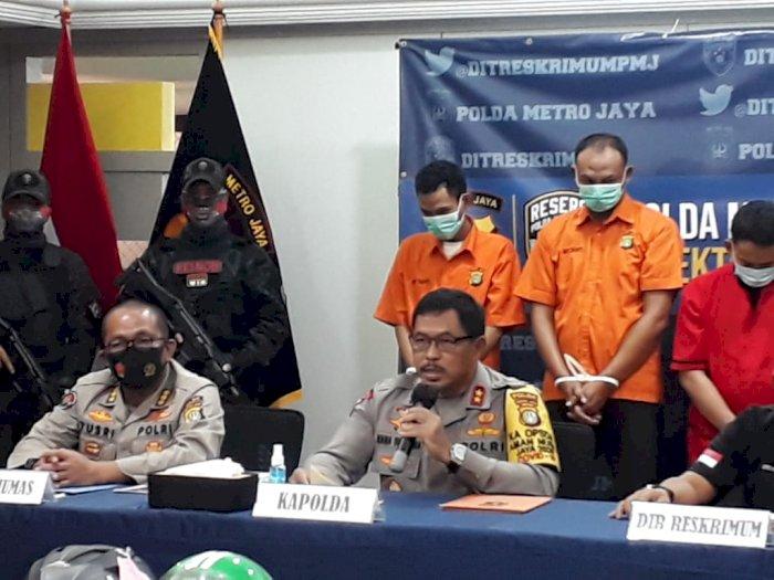 2 Pelaku Begal Pesepeda Perwira Marinir Ditangkap, 2 Masih Buron