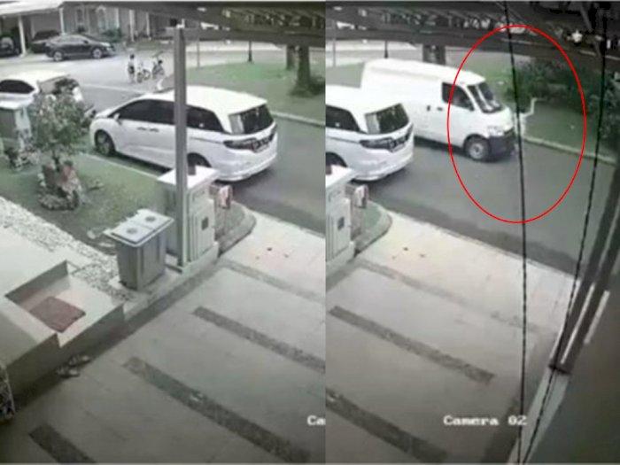 Tragis! Viral Video Detik-detik Mobil Melaju Kencang Tabrak Bocah Hingga Terpental