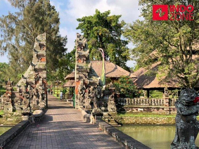 Melihat Kondisi Wisata Taman Ayun Badung Bali di Tengah Pandemi, Masih Sepi Turis