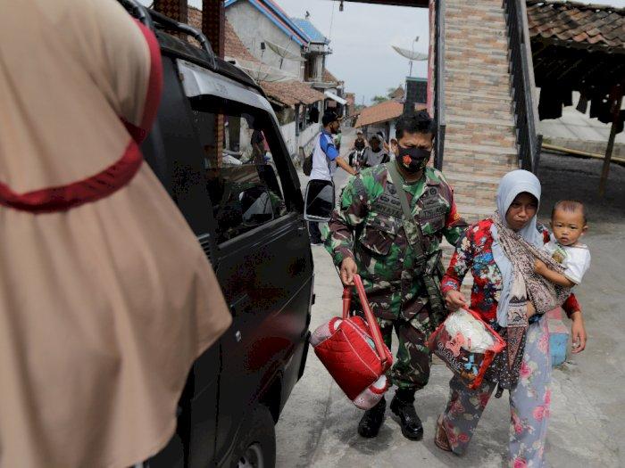 FOTO: Pengungsi Gunung Merapi