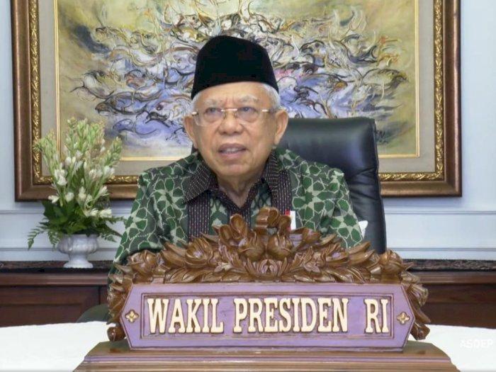 Ma'ruf Amin: Tak Ada Satu Agama pun yang Menoleransi Terorisme