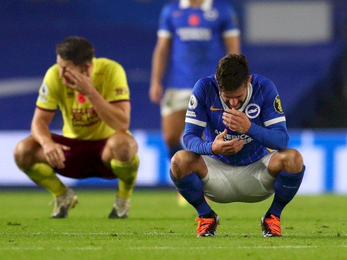 FOTO: Liga Inggris, Brighton & Hove Albion vs Burnley 0-0