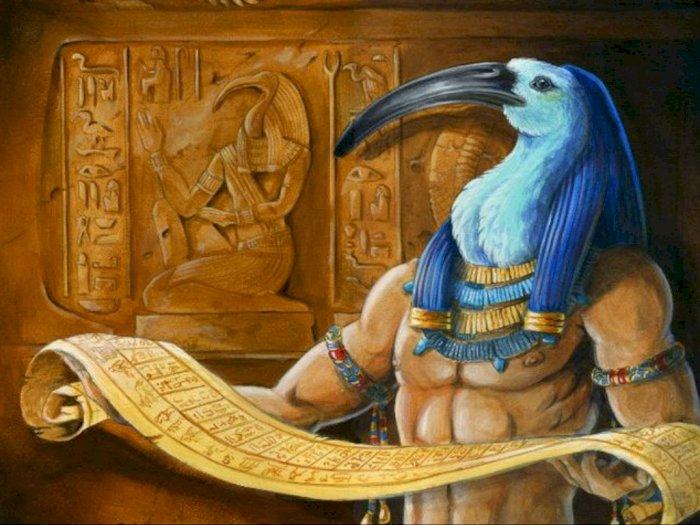 Dewa Penulisan 'Thoth,' Penemu Bahasa Dan Hieroglif dalam Mitologi Mesir