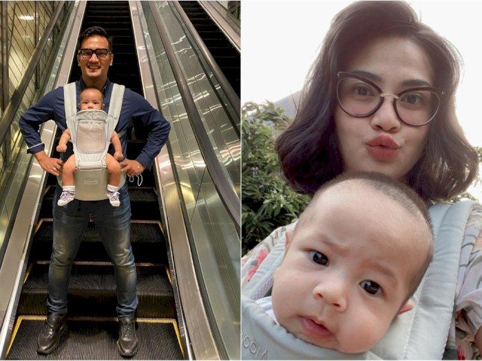 Tanpa Kehadiran Vanessa Angel, Bibi Ardiansyah Bawa Anaknya Suntik Vaksin Sendiri