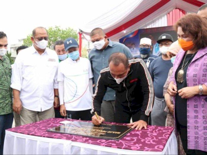 Taman Budaya Sumut Pindah, Ini Kata Pjs Walikota Medan dan Gubernur Edy