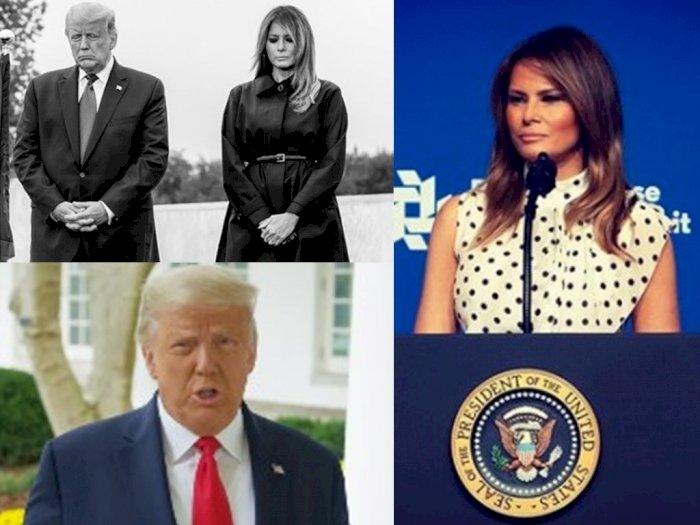 Suami Merasa Dicurangi, Melania Trump: Rakyat Amerika Berhak Dapat Pemilihan yang Adil