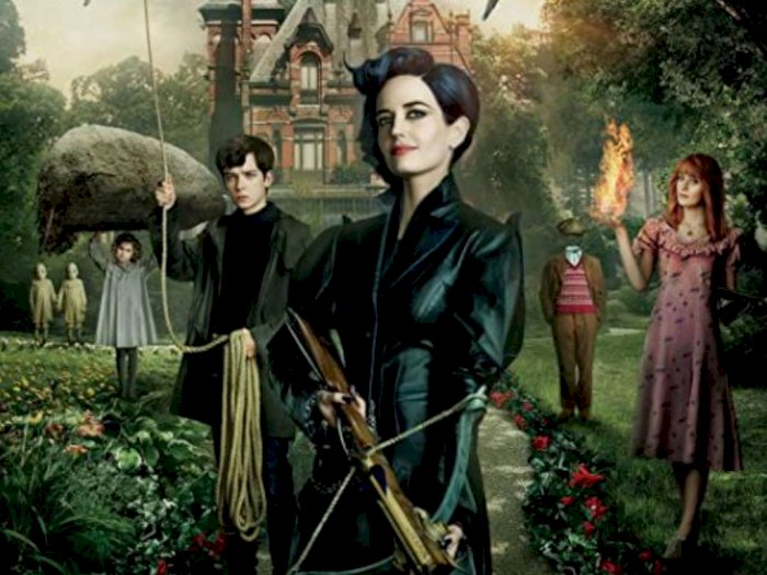 Sinopsis Film 'Miss Peregrine's Home for Peculiar Children (2016)'
