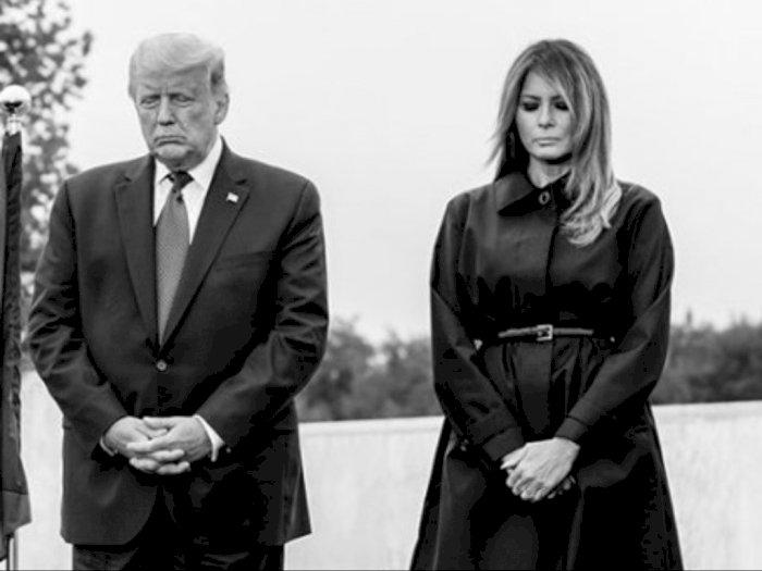 Wow! Gosip Cerai usai Kalah Pilpres, Melania Trump Justru Bela Suami yang Merasa Dicurangi