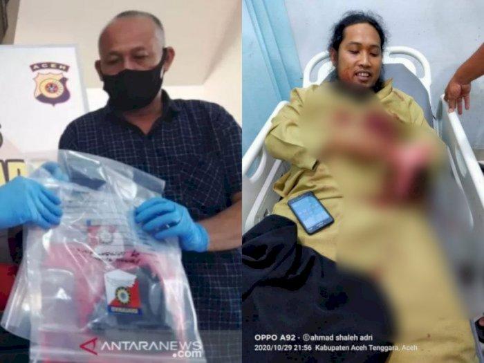 Aneh, Diajak Perbanyak Sedekah, Mantan Polisi Tersangka Bacok Ustadz Malah Sakit Hati