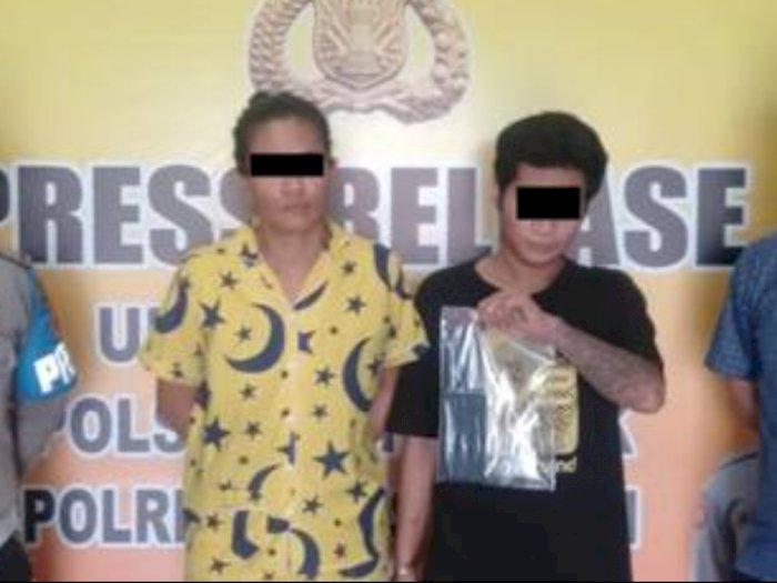Nekat jadi Pemasok Ekstasi, Kakak Beradik di Medan Diamankan Petugas di Dalam Lift