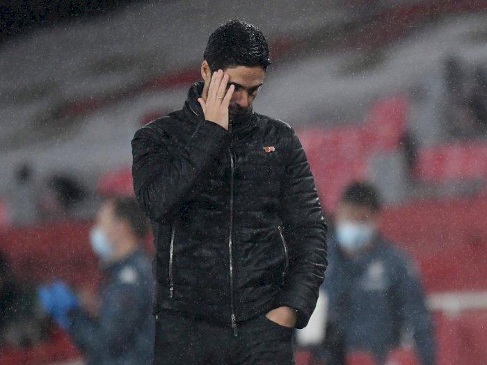 Kalah Telak dari Aston Villa Jadi Pencapaian Buruk Arsenal dalam 22 Tahun Terakhir