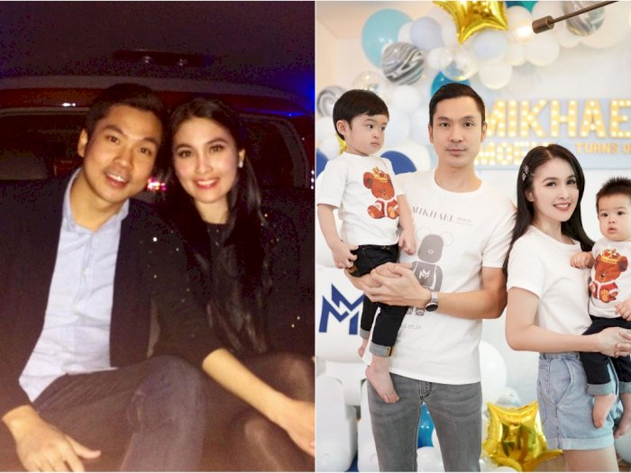 Unggah Foto Jadul Saat Pacaran, Ini Pesan Cinta Sandra Dewi di Anniversary ke-4 Tahun
