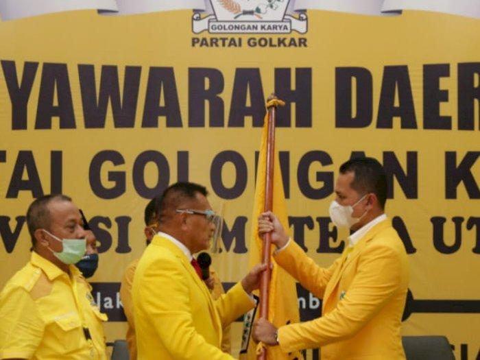 Ijeck Pimpin Golkar Sumut, Edy: Kalau Ingin Jadi Gubernur Minta Saja, Saya Kasih Itu