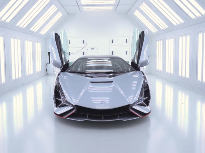 Seperti Ini Tampilan Mobil Hybrid Lamborghini Sian yang Sudah Siap 95%