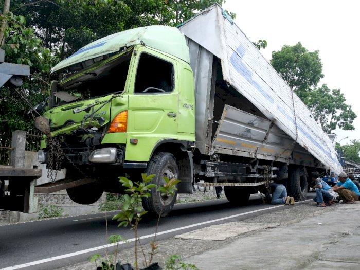 FOTO: Kecelakaan Truk di Wonosobo